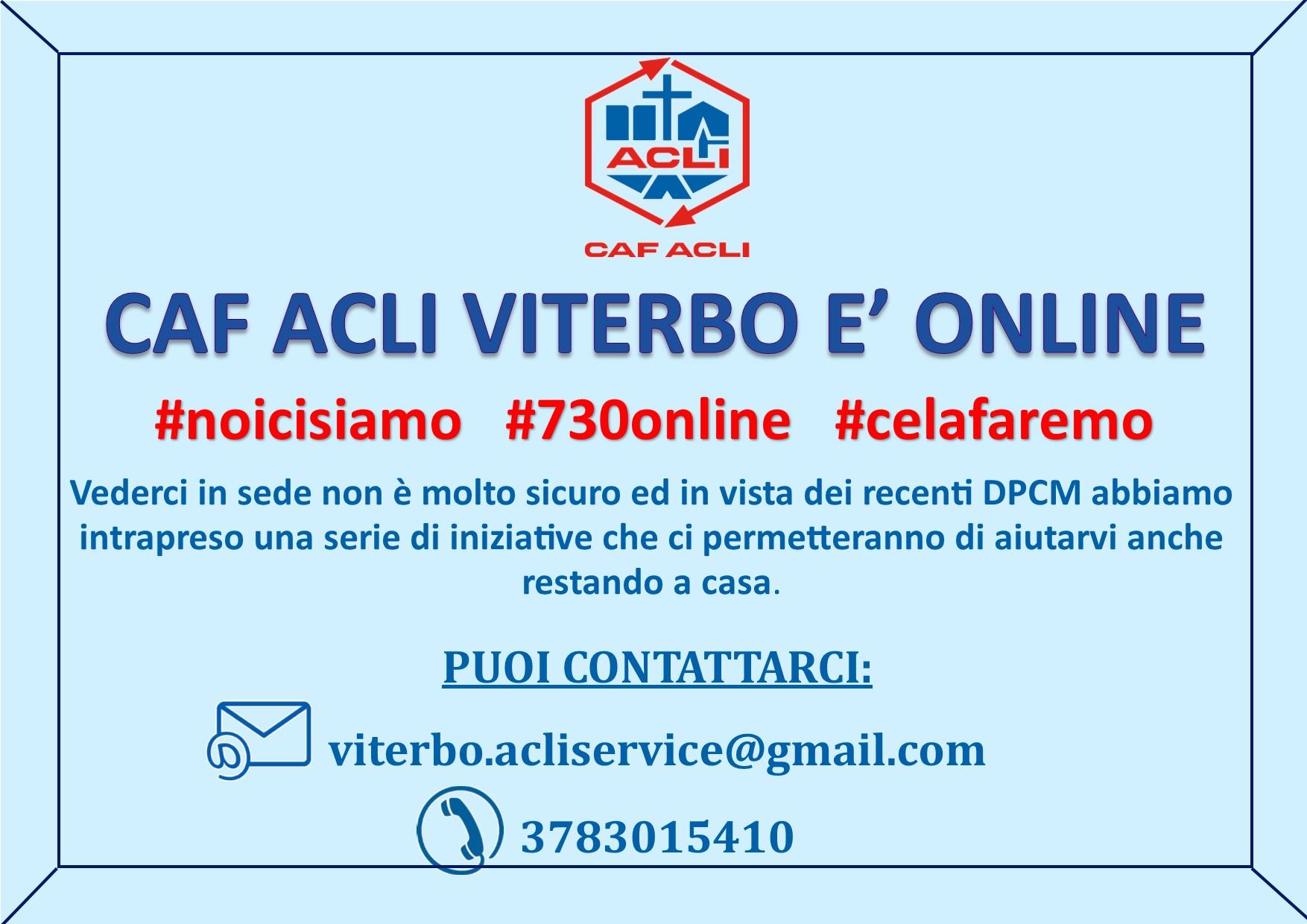 Caf Acli Viterbo online 1
