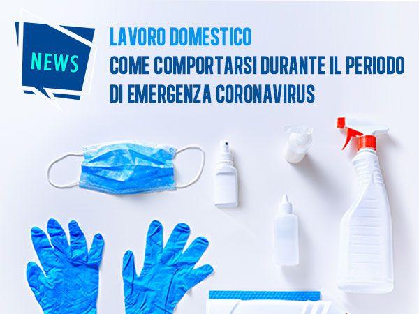 Il lavoro domestico durante il coronavirus